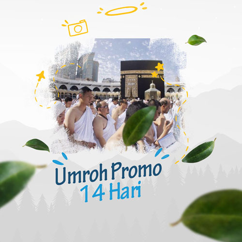 Umroh promo 14 hari